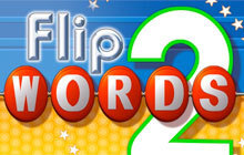 Flip Words 2 Badge