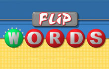 Flip Words Badge