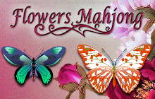 Flowers Mahjong Badge