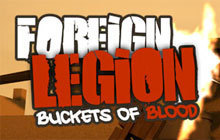 Foreign Legion: Buckets of Blood Badge