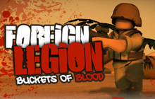 Foreign Legion : Buckets of Blood Badge