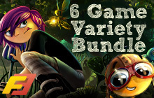 Forever Entertainment 6 Game Variety Bundle