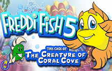 Freddi Fish 5: The Case of the Creature of Coral Cove Badge
