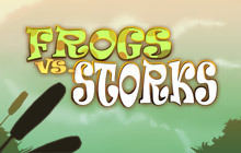 Frogs vs. Storks Badge