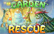 Garden Rescue Christmas Edition Badge