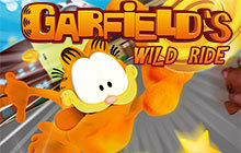 Garfield's Wild Ride Badge
