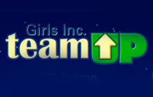 Girls Inc. TeamUP Badge