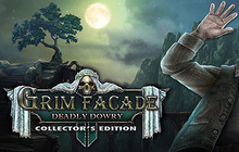 Grim Facade: A Deadly Dowry Collector's Edition Badge