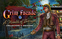 Grim Facade: A Wealth of Betrayal Collector's Edition Badge