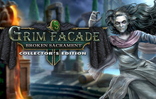Grim Facade: Broken Sacrament Collector's Edition Badge