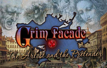 Grim Facade: The Artist and The Pretender Badge