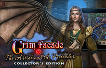 Grim Facade: The Artist and The Pretender Collector's Edition Badge