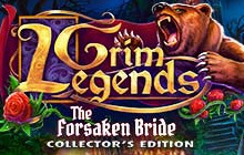 Grim Legends: The Forsaken Bride Collector's Edition Badge