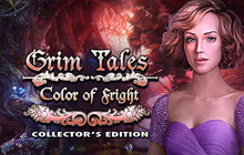 Grim Tales: Color of Fright Collector's Edition Badge