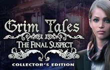 Grim Tales: The Final Suspect Collector's Edition Badge