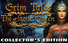 Grim Tales: The Stone Queen Collector's Edition Badge