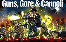 Guns, Gore & Cannoli Badge