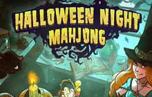 Halloween Night Mahjong Badge