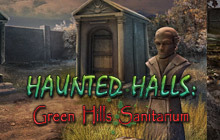 Haunted Halls: Green Hills Sanitarium Collector's Edition Badge