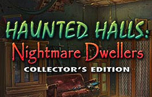 Haunted Halls: Nightmare Dwellers Collector's Edition Badge
