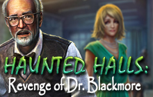 Haunted Halls: Revenge of Dr. Blackmore Badge