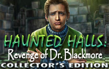 Haunted Halls: Revenge of Dr. Blackmore Collector's Edition Badge