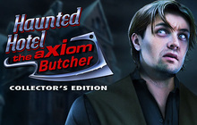 Haunted Hotel: The Axiom Butcher Collector's Edition Badge