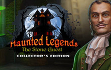 Haunted Legends: Stone Guest Collector's Edition Badge