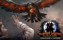 Haunted Legends: The Black Hawk Collector's Edition Badge