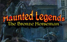 Haunted Legends: The Bronze Horseman Collector's Edition Badge