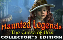 Haunted Legends: The Curse of Vox Collector's Edition Badge