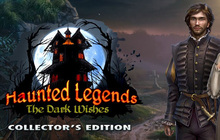 Haunted Legends: The Dark Wishes Collector's Edition Badge