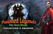 Haunted Legends: The Iron Mask Collector's Edition Badge