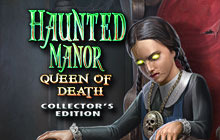 Haunted Manor: Queen of Death Collector's Edition Badge