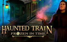 Haunted Train: Frozen in Time Badge
