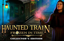 Haunted Train: Frozen in Time Collector's Edition Badge