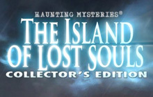 Haunting Mysteries: The Island of Lost Souls Collector's Edition Badge