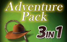 Hidden Objects - 3 in 1 - Adventure Pack Badge