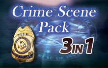 Hidden Objects - 3 in 1 - Crime Scene Pack Badge
