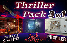 Hidden Objects - 3 in 1 - Thriller Pack Badge