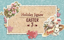 Holiday Jigsaw Easter 3 Badge