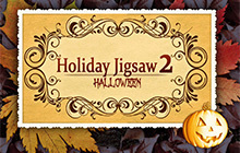 Holiday Jigsaw Halloween 2 Badge