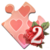 Holiday Jigsaw Valentine's Day 2 Icon