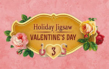 Holiday Jigsaw Valentine's Day 3 Badge