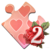 Holiday Jigsaw Valentine's Day Icon