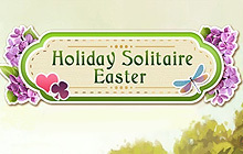 Holiday Solitaire Easter Badge