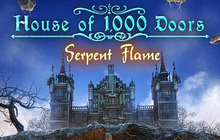 House of 1000 Doors: Serpent Flame Badge
