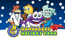 Humongous Holiday Pack Badge