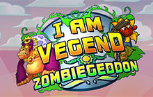 I Am Vegend - Zombiegeddon Badge