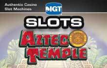 IGT Slots Aztec Temple Badge